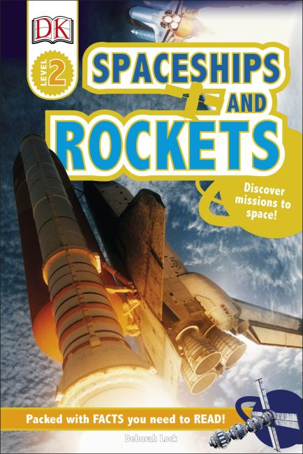 Hardback cover of Spaceships and Rockets