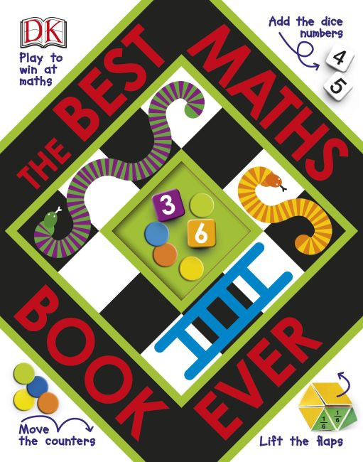 Board book cover of The Best Maths Book Ever
