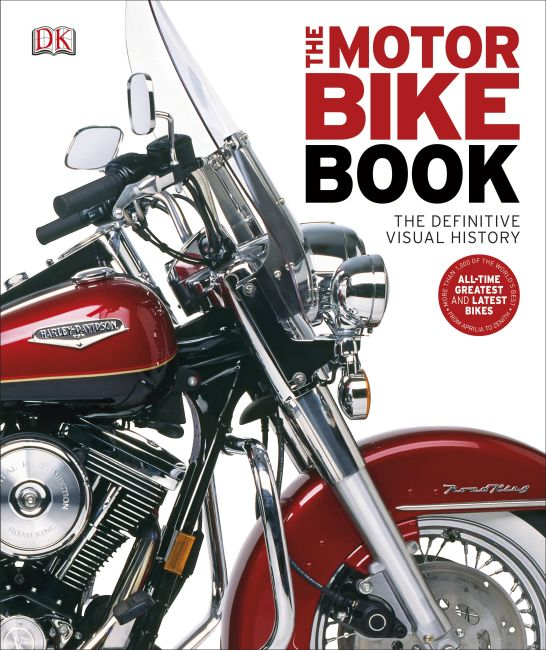 Hardback cover of The Motorbike Book