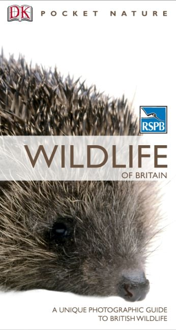 Paperback cover of RSPB Pocket Nature Wildlife of Britain