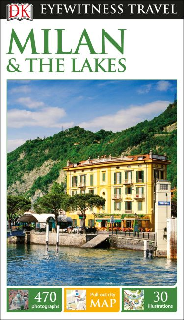 Flexibound cover of DK Eyewitness Travel Guide Milan and the Lakes
