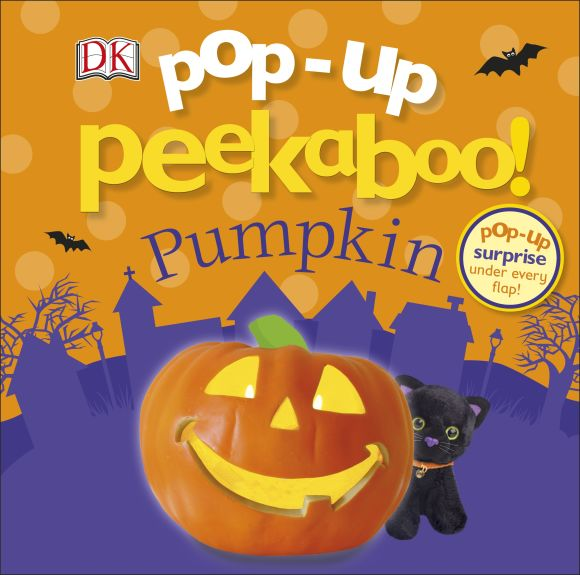 Board book cover of Pop-Up Peekaboo! Pumpkin