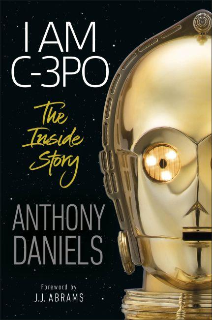 Hardback cover of I Am C-3PO