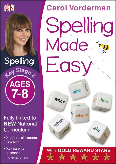 Paperback cover of Spelling Made Easy Ages 7-8 Key Stage 2