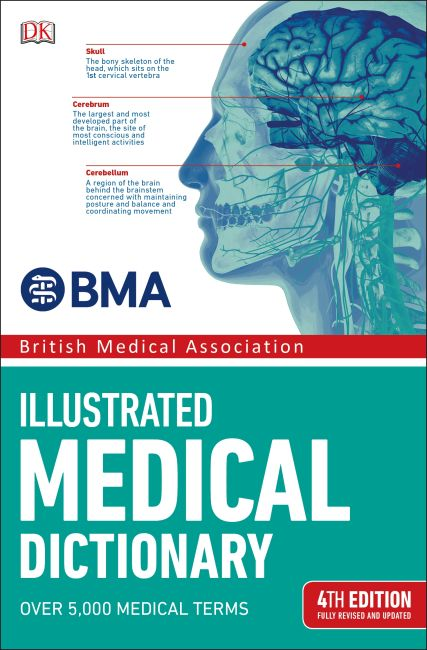Paperback cover of BMA Illustrated Medical Dictionary