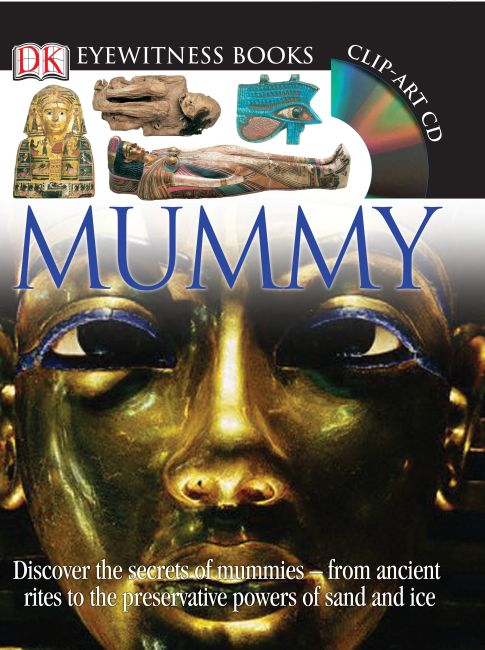Hardback cover of DK Eyewitness Books: Mummy