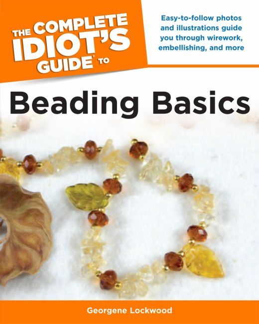 eBook cover of The Complete Idiot's Guide to Beading Basics