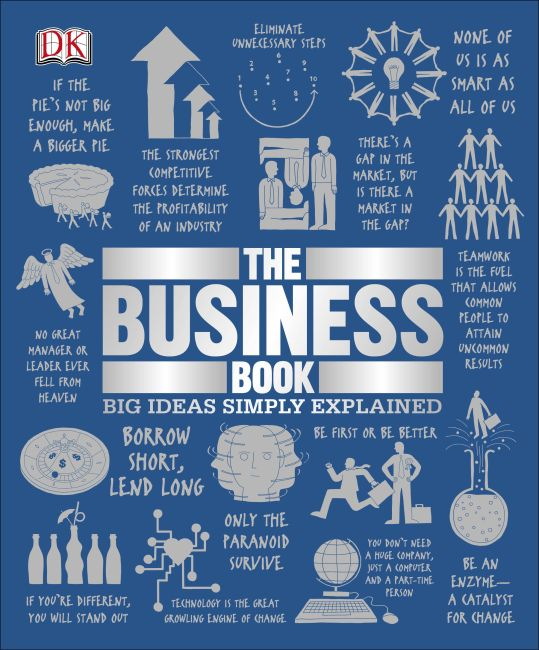 Hardback cover of The Business Book