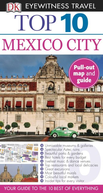 Paperback cover of Top 10 Mexico City