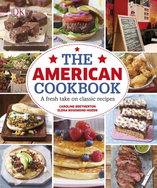 Hardback cover of The American Cookbook A Fresh Take on Classic Recipes