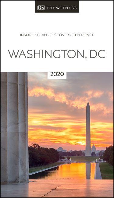 Paperback cover of DK Eyewitness Travel Guide Washington, DC