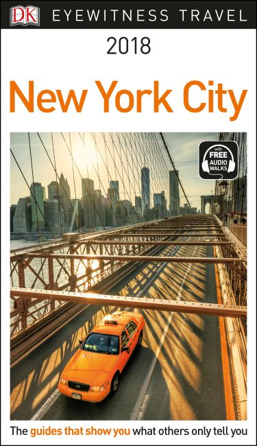 Paperback cover of DK Eyewitness Travel Guide New York City