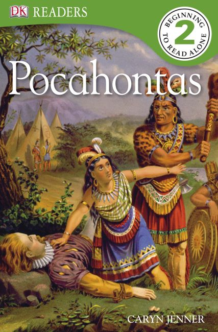 eBook cover of The Story Of Pocahontas