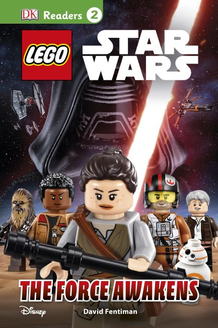 Hardback cover of DK Readers L2: LEGO Star Wars: The Force Awakens