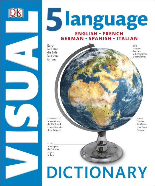 Hardback cover of 5 Language Visual Dictionary