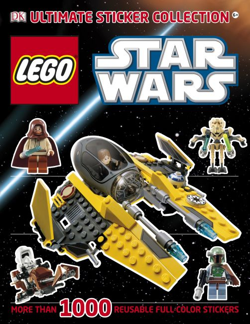 Paperback cover of Ultimate Sticker Collection: LEGO® Star Wars