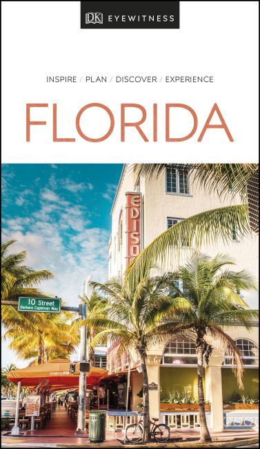 Paperback cover of DK Eyewitness Florida