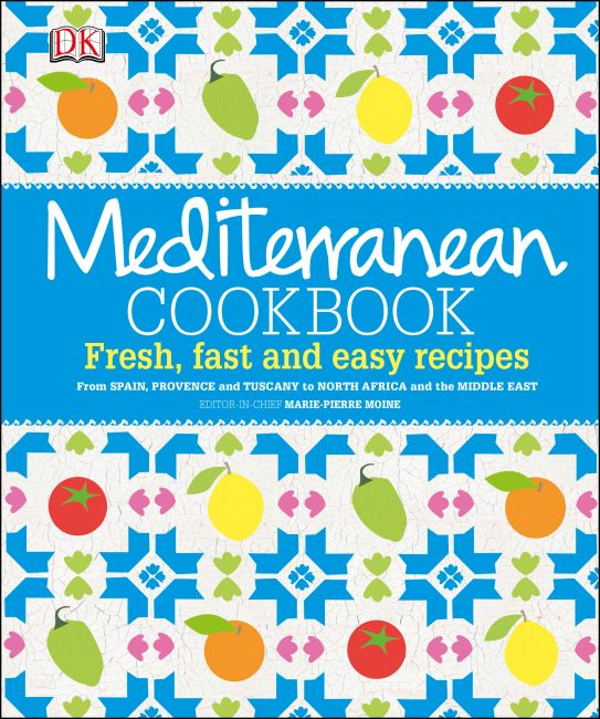 Hardback cover of Mediterranean Cookbook