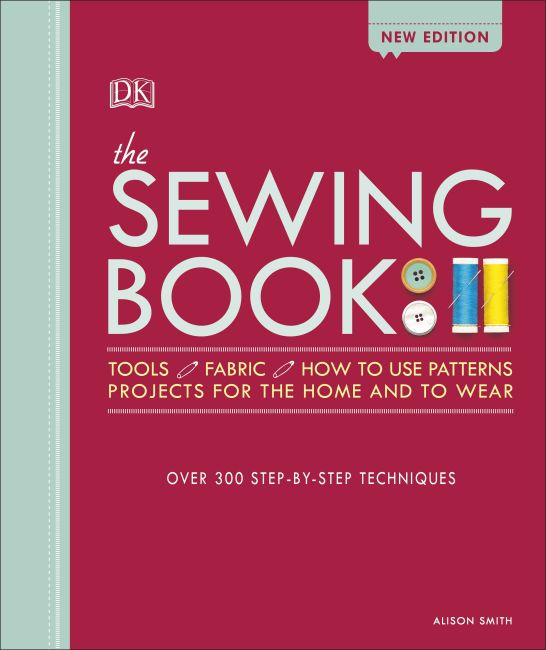 Hardback cover of The Sewing Book New Edition
