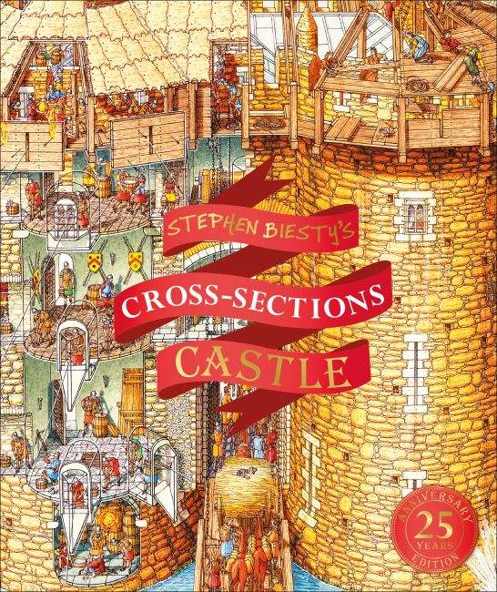 Hardback cover of Stephen Biesty's Cross-Sections Castle