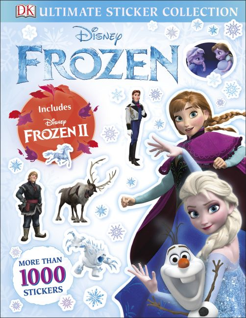 Paperback cover of Disney Frozen Ultimate Sticker Collection