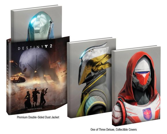 Hardback cover of Destiny 2
