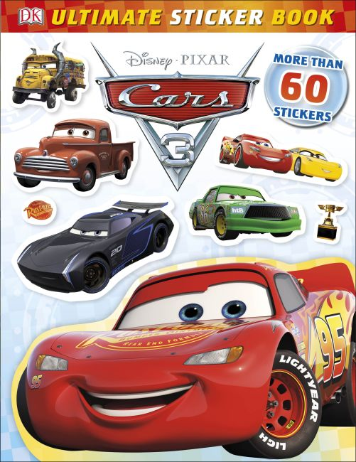 Paperback cover of Ultimate Sticker Book: Disney Pixar Cars 3