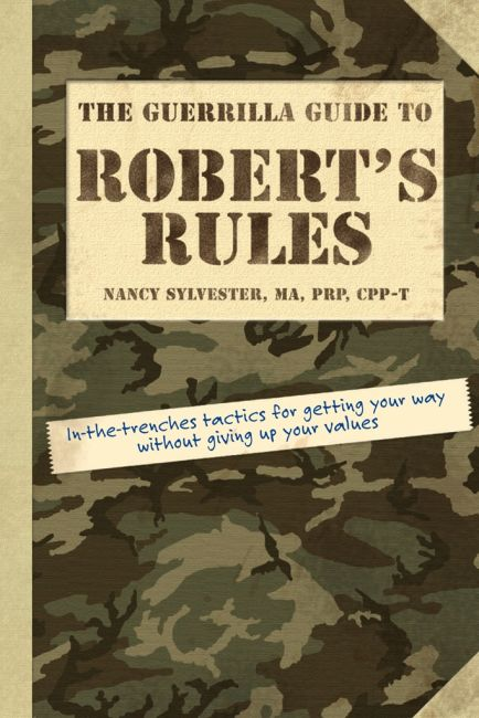 eBook cover of The Guerrilla Guide to Robert's Rules
