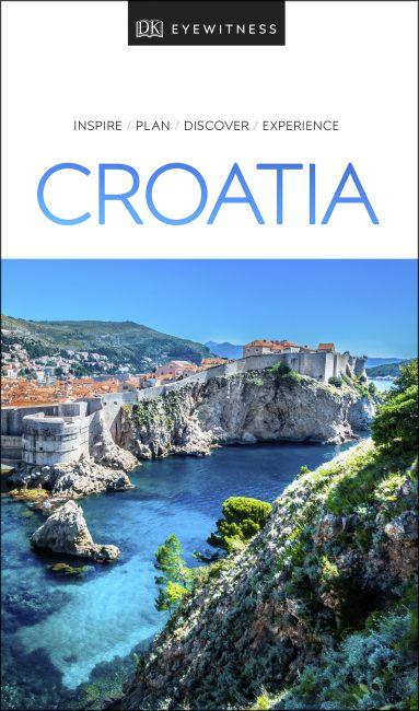 Paperback cover of DK Eyewitness Travel Guide Croatia