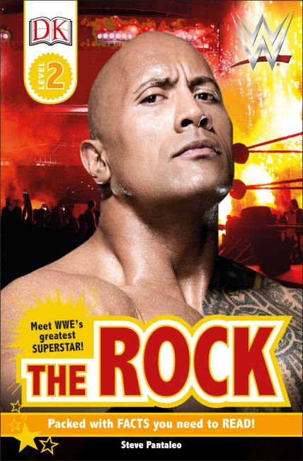 Paperback cover of DK Reader Level 2:  WWE The Rock