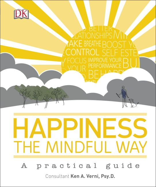 Hardback cover of Happiness the Mindful Way