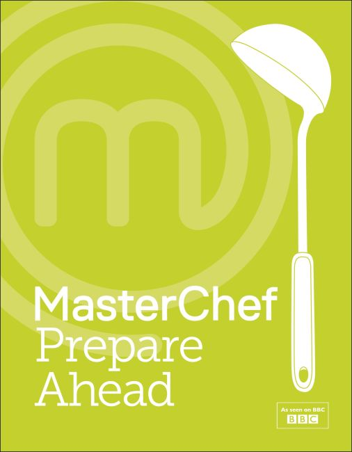 Hardback cover of MasterChef Prepare Ahead