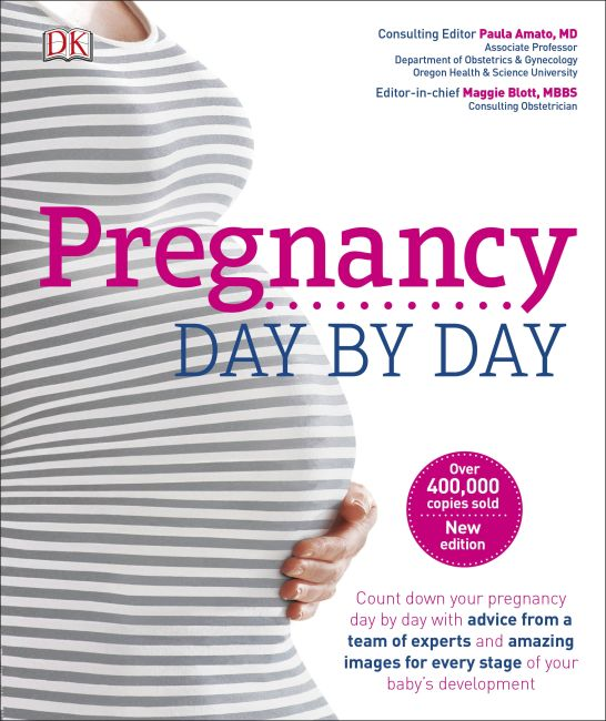 Hardback cover of Pregnancy Day By Day