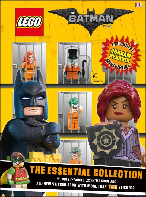 Book and CD cover of The LEGO® BATMAN MOVIE The Essential Collection