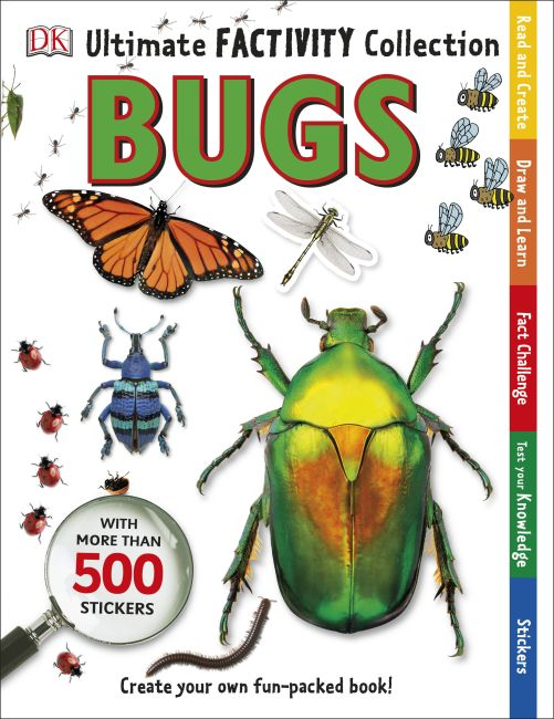 Paperback cover of Ultimate Factivity Collection: Bugs
