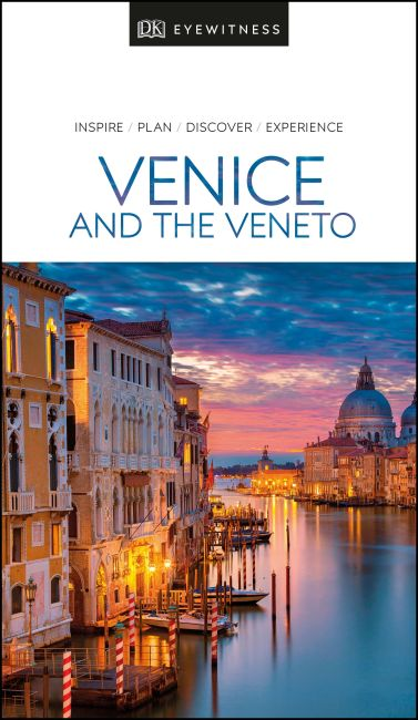 Paperback cover of DK Eyewitness Travel Guide Venice and the Veneto