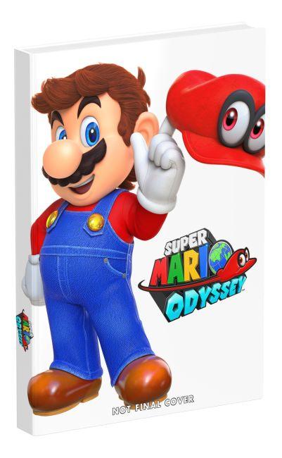 Hardback cover of Super Mario Odyssey