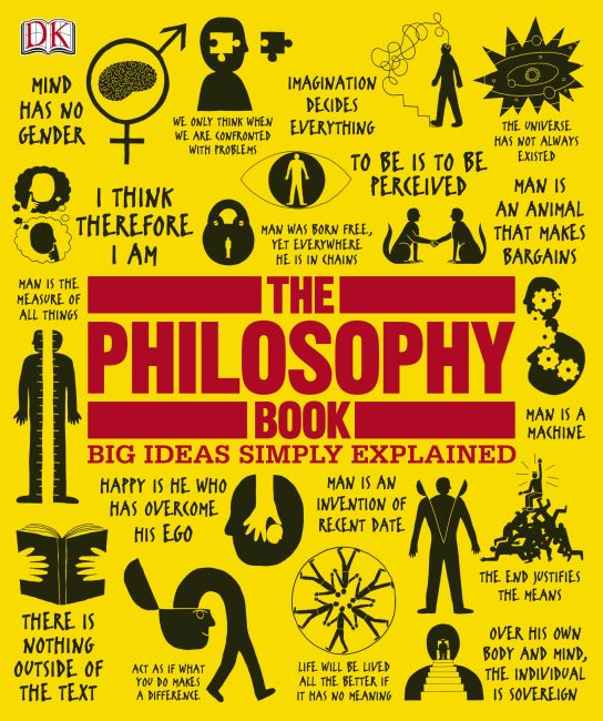 Hardback cover of The Philosophy Book