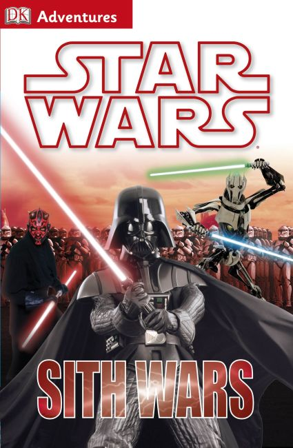 Hardback cover of DK Adventures: Star Wars: Sith Wars