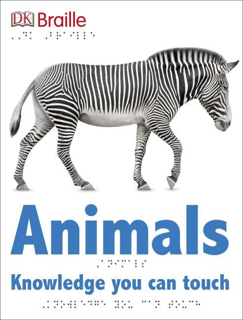 Hardback cover of DK Braille: Animals