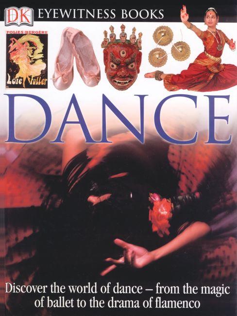 Hardback cover of DK Eyewitness Books: Dance