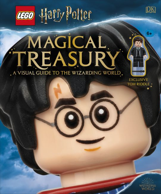 Hardback cover of LEGO® Harry Potter™ Magical Treasury (with exclusive LEGO minifigure)
