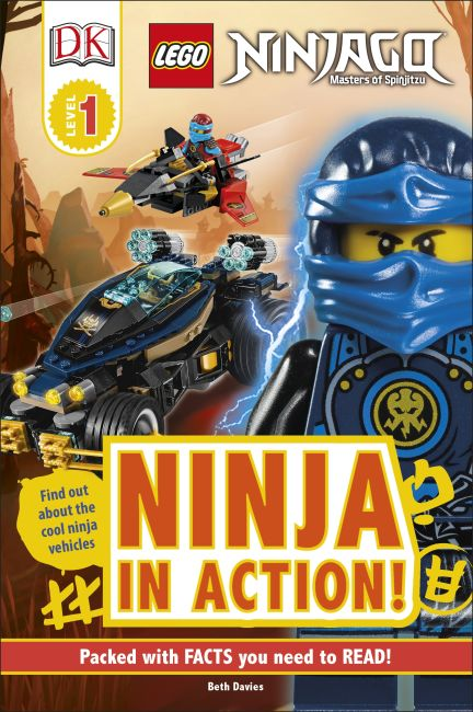 Hardback cover of LEGO NINJAGO Ninja in Action!