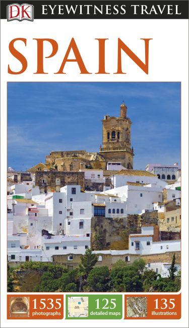 Paperback cover of DK Eyewitness Travel Guide Spain
