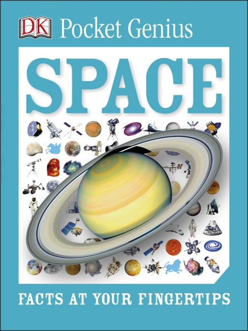 Paperback cover of Pocket Genius: Space
