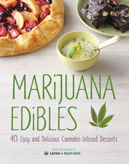 Hardback cover of Marijuana Edibles