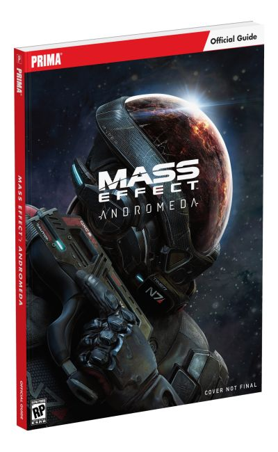 Paperback cover of Mass Effect Andromeda