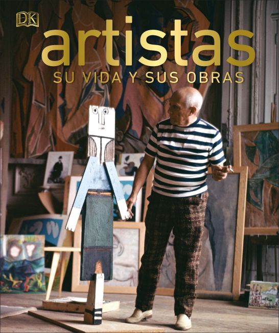 Hardback cover of Artistas