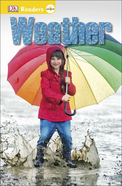 Paperback cover of DK Readers L0: Weather
