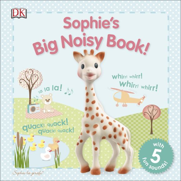 Board book cover of Sophie's Big Noisy Book!